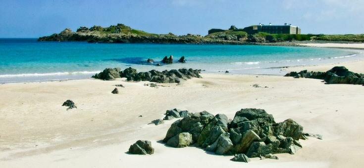 Alderney beach