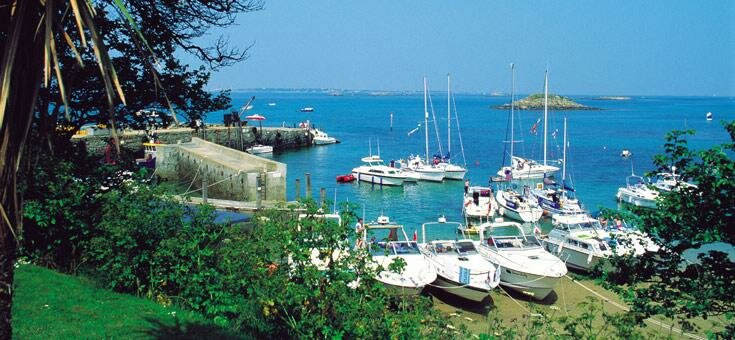 Guernsey harbour