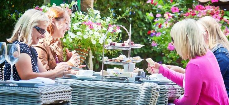 Guernsey cream tea