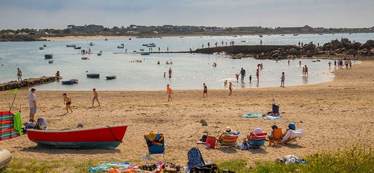 summer in Guernsey