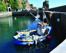 small photo of Sark Harbour